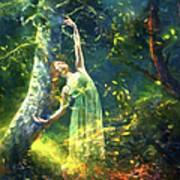 Bohemian Dancer Fantasy Art Print