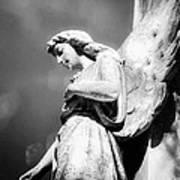 Bokeh Angel In Infrared Art Print