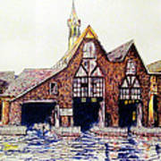 Boldt Castle Boat House Art Print