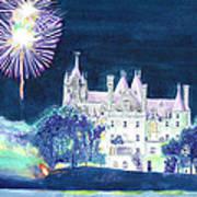 Boldt Castle Fireworks Art Print