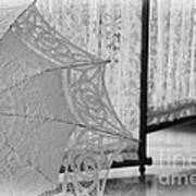 Boldt Castle Umbrella Art Print