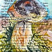 Boletus Edulis Close Up Art Print