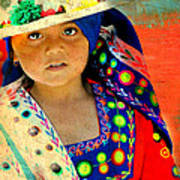 Bolivian Child Art Print