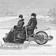 Bollee Carriage, 1898 Art Print