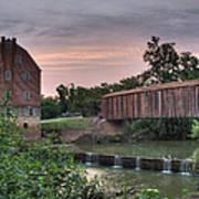 Burfordville Mill Art Print