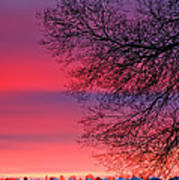 Bolton Sunset Art Print