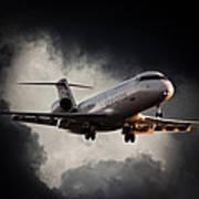 Bombardier Landing Art Print