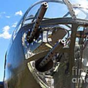 Bomber's Cockpit Art Print