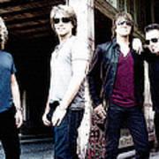 Bon Jovi Art Print