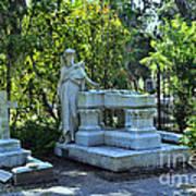 Bonaventure Cemetery 2 Art Print
