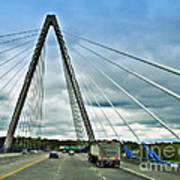 Bond Bridge In Kansas City Art Print