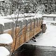 Bond Falls Bridge Art Print