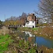Bonds Mill Area Stroudwater Canal Art Print