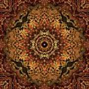 Bone Tapestry 2 Art Print