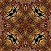 Bone Tapestry Art Print