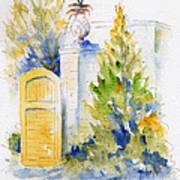 Bonnet House Garden Gate Art Print