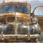 Bonnie And Clyde Art Print by Debra and Dave Vanderlaan