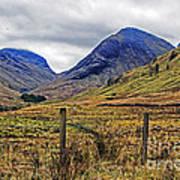 Bonny Scotland Art Print