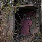 Boogie Monster Graffiti Art Print