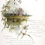 Book Illustration -- April Art Print