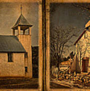 Book Of Churches Art Print