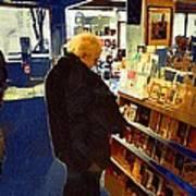Bookstore Dreamer Art Print