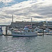 Boothbay Harbor 0231 Art Print
