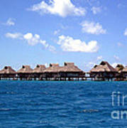 Bora Bora Lagoon Art Print