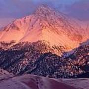 Borah Peak  Art Print