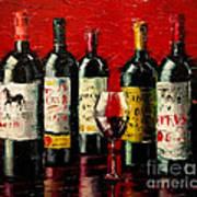 Bordeaux Collection Art Print