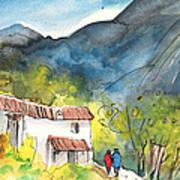 Borgo In Italy 01 Art Print