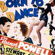 Born To Dance Art Print