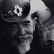 Born To The West Homage 1937 Buffalo Bill Helldorado Days Tombstone Arizona 1968-2008 Art Print