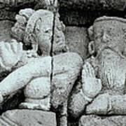 Borobudur Apsara Dancer Art Print