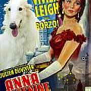 Borzoi Art - Anna Karenine Movie Poster Art Print