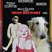 Borzoi Art - Some Like It Hot Movie Poster Art Print