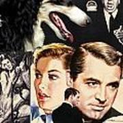 Borzoi Art - Suspicion Movie Poster Art Print