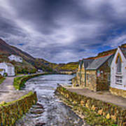 Boscastle Harbour Art Print