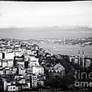 Bosphorus View Art Print
