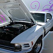 Boss 302 Mustang Art Print