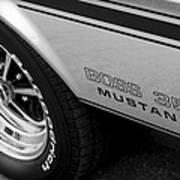 Boss 351 Mustang Art Print