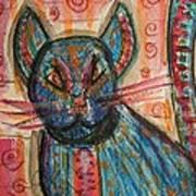 Bossa Nova Kittykat Art Print