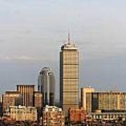 Boston Back Bay With The Prudential Tower Art Print by Jannis Werner