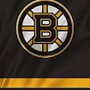 Boston Bruins Uniform Art Print