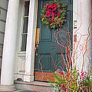 Boston Doorway Two Art Print