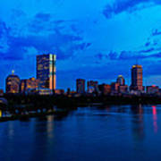 Boston Evening Art Print