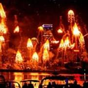 Boston Fireworks  Firepower Art Print