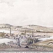 Boston Harbor, 1775 Art Print