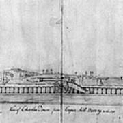Boston Harbor, 1778 Art Print