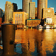 Boston Harbor Art Print by James Kirkikis